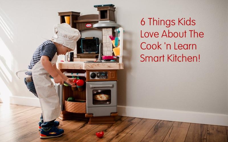 6 cosas que les encantan a los niños sobre la cocina inteligente Cook 'n Learn