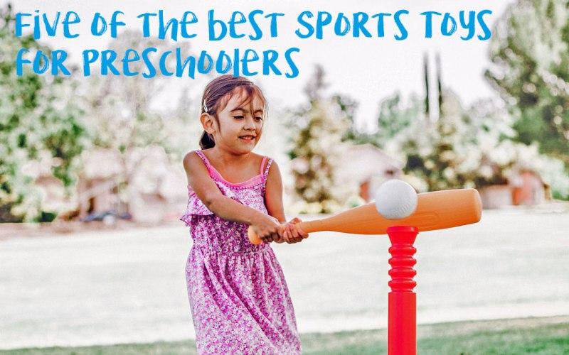 5 increíbles juguetes deportivos para niños en edad preescolar