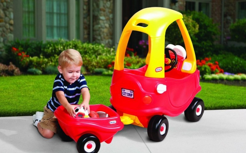 Transforma el coche de Little Tikes